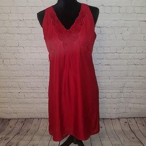 NWT Ann Taylor LOFT petites Red 10P dress, $99